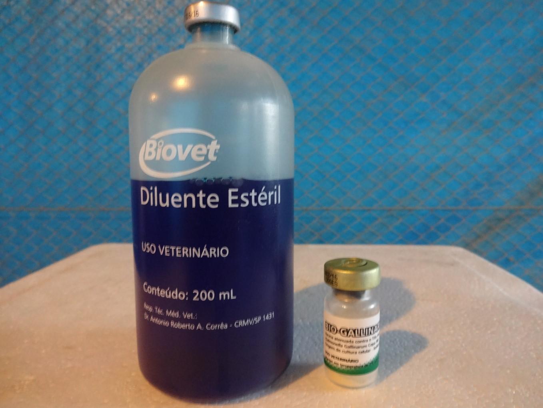 Diluente Estéril 200 mL